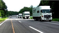 Автокараваны везут оборудование для АЭС Беларуси
