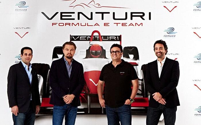 Ди Каприо стал совладельцем команды Venturi Grand Prix Формулы Е