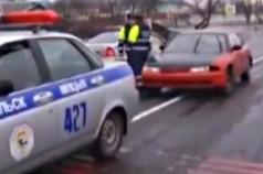 Задержан рекордсмен по нарушению ПДД