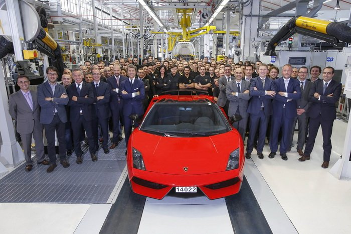 Lamborghini Gallardo стал классикой