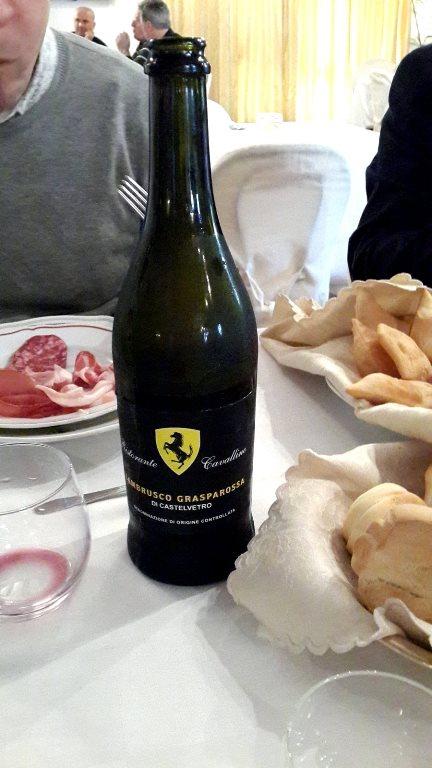 Фирменное вино Феррари!