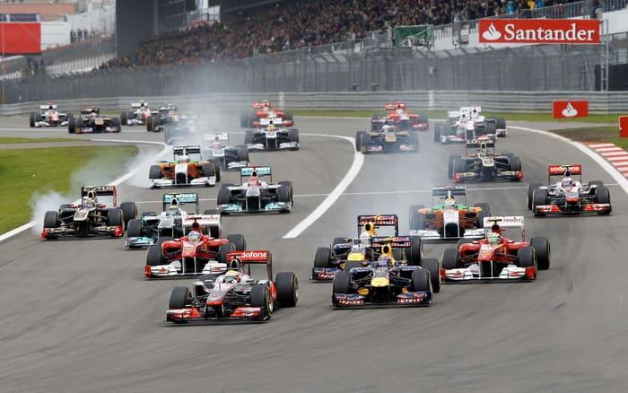 Календарь Формулы-1 на 2014 год