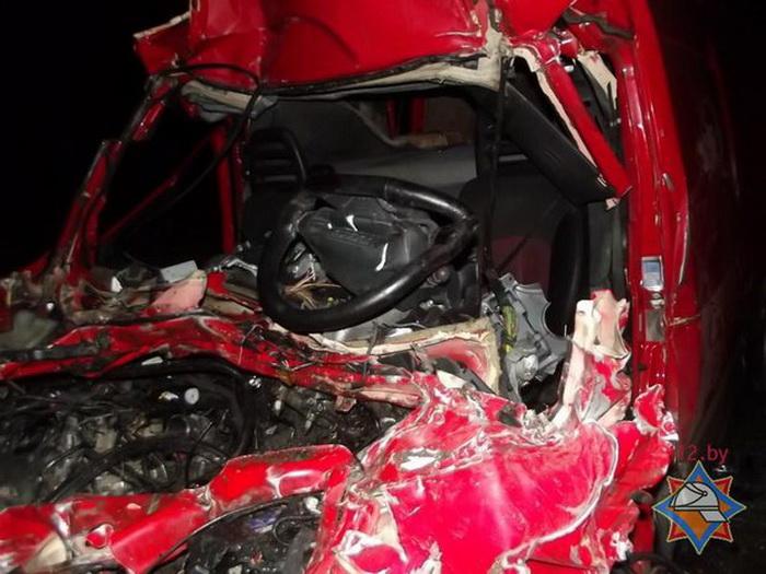 ДТП: на трассе  Р28 столкнулись Iveco и MAN