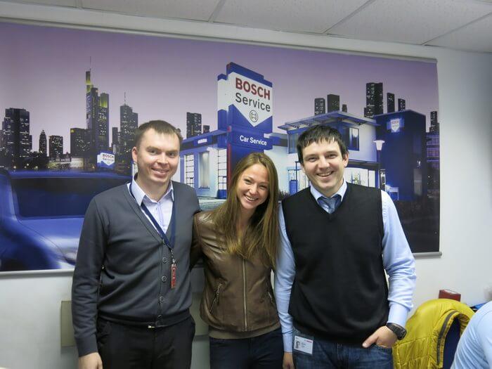 Александра Герасименя выбирает Bosch