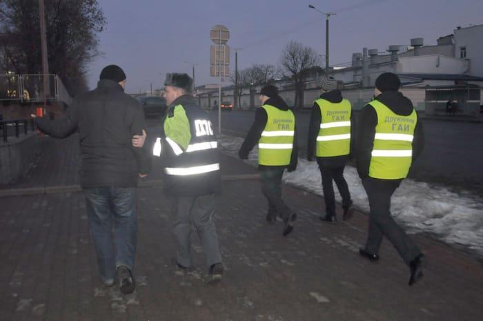 Столичная ГАИ провела «пешеходный» рейд