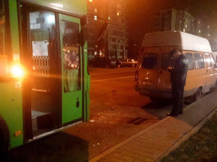 Аварии с участием общественного транспорта зафиксированы в Бресте