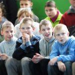 новый год для воспитанников детского дома в Бегомле