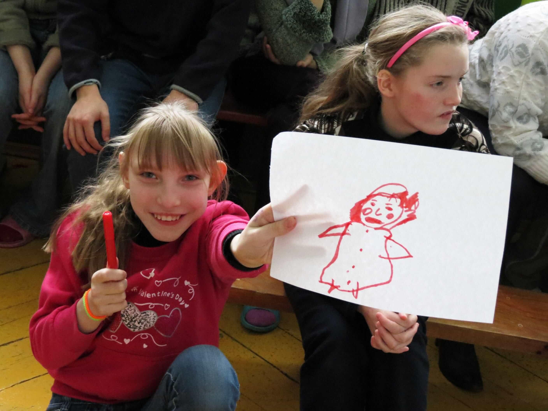 рисунки детей из детского дома