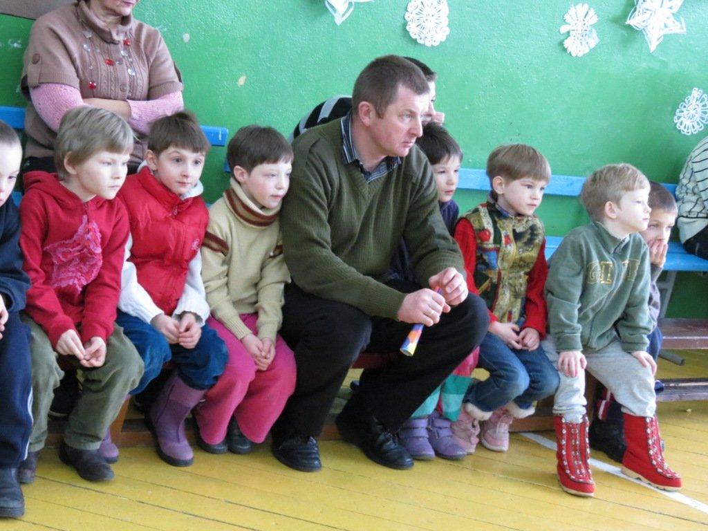 самые маленькие воспитанники детского дома в Бегомле