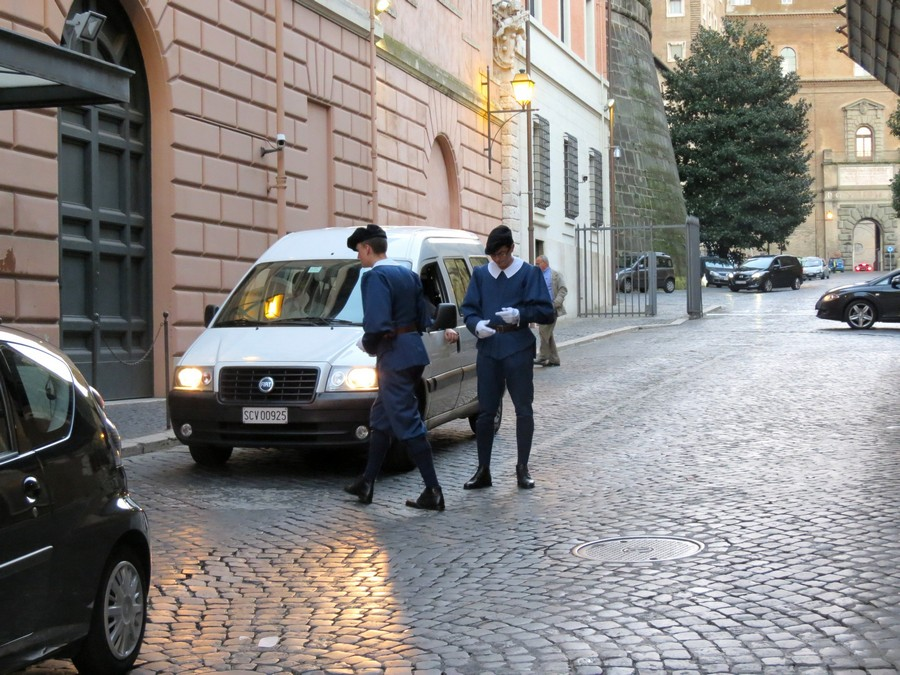 Гвардейцы Ватикана