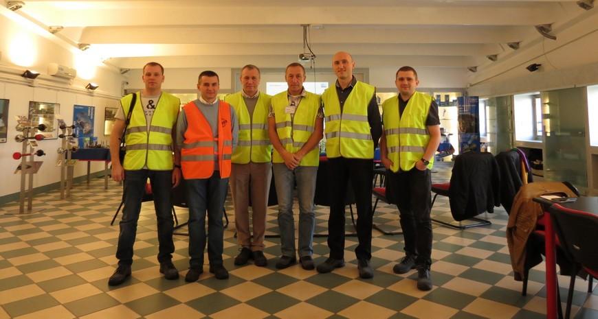 группа белорусских специалистов в Италии