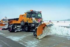 На угнаной снегоуборочной машине минчанин уехал в Солигорск