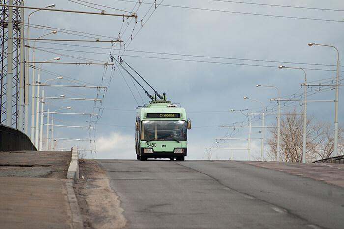 В 2015 году в Каменной Горке проведут троллейбусные линии