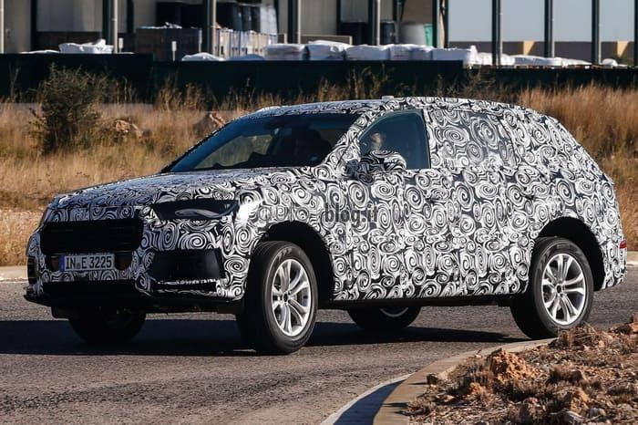 Новый Audi Q7 засветился на дорогах общего пользования