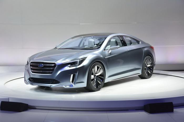Subaru пролил свет на новый Legacy