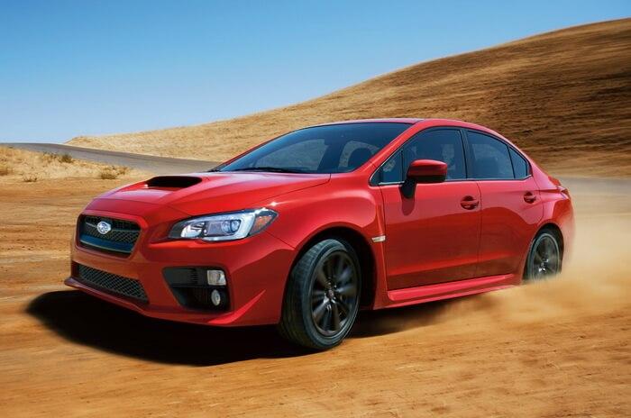 Subaru раскрыл новый WRX