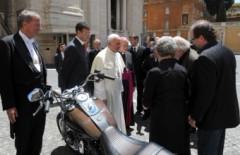 Harley Davidson Папы римского будет продан на аукционе