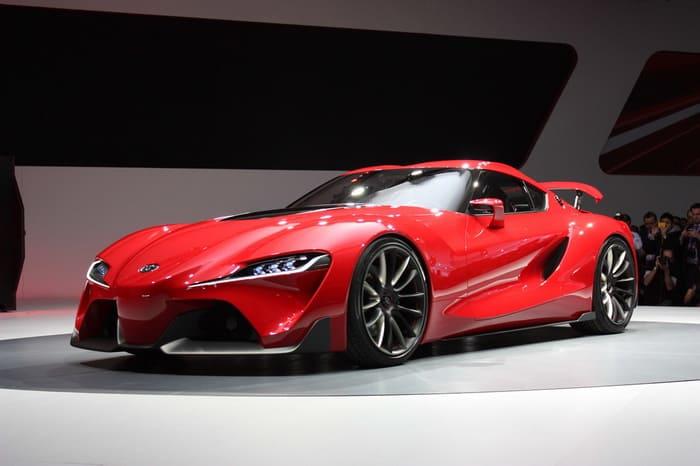Toyota показала прототип флагманского спорткара