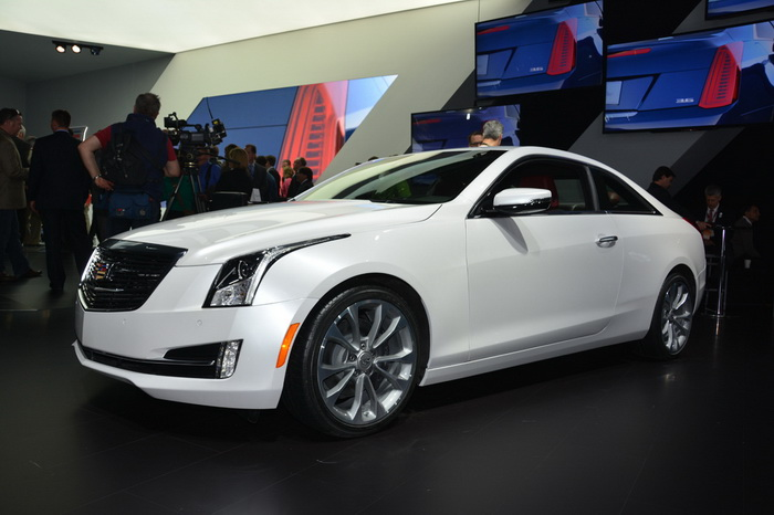 Cadillac ATS превратился в купе