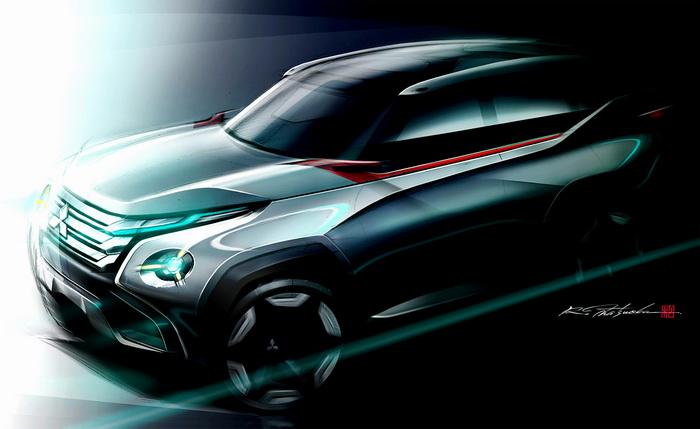Следующий Mitsubishi Pajero примерит гибридный двигатель