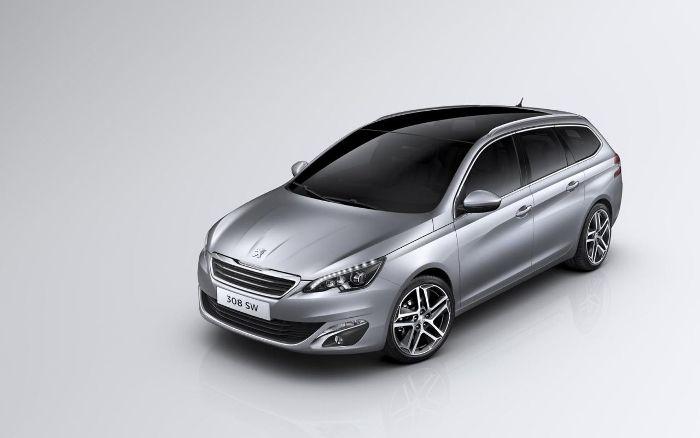 Универсал Peugeot 308 увидит свет в марте