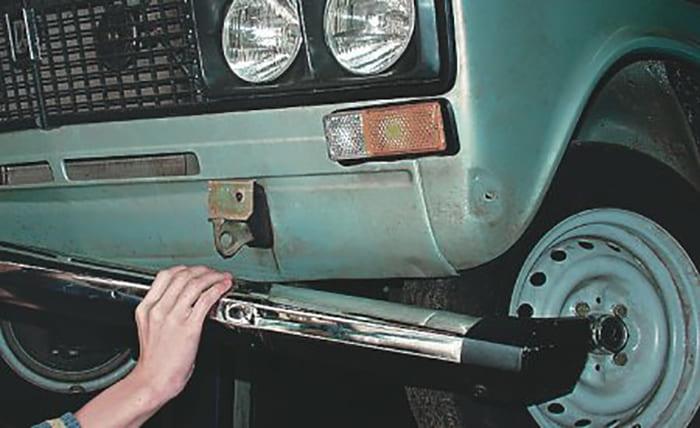 Если на авто сменили бампера