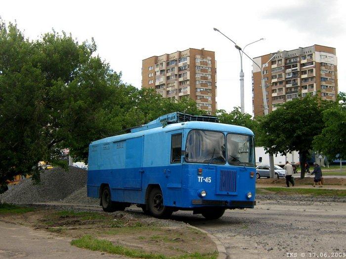 """""""Ветераны"""" 5-ого троллейбусного"""