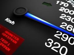 Россияне совершают до 70% всех превышений скорости в Беларуси