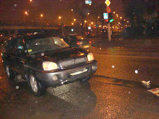 Hyundai сбил пешехода - мужчина в тяжелом состоянии