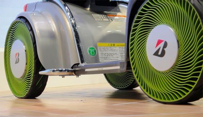 Бриджстоун показала концепт безвоздушных шин второго поколения