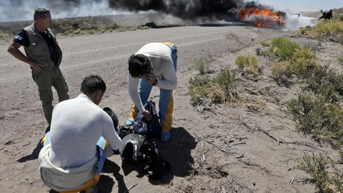 "На пятом этапе ""Дакара"" погибли два аргентинских журналиста"