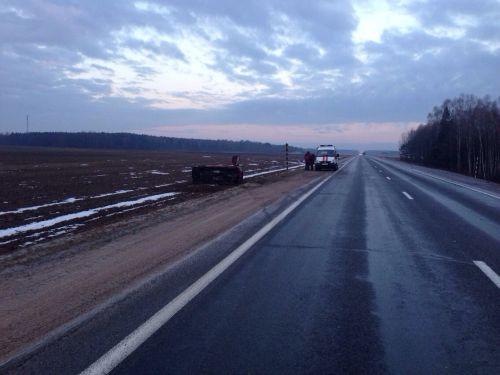 ДТП на автодороге «Минск-Гродно»