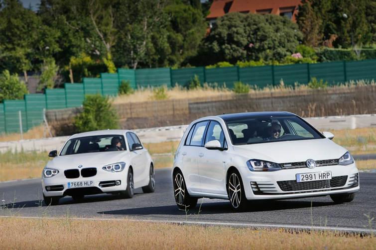 Сравнительный тест автомобилей BMW 120d и VW Golf GTD