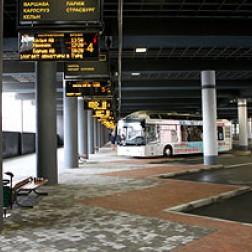 приостановлено движение автобусов из Минска в киевском направлении