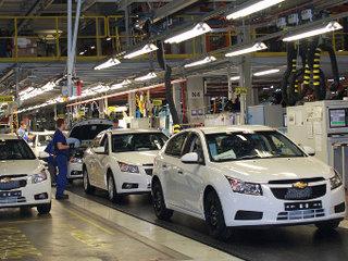В России остановлен выпуск машин