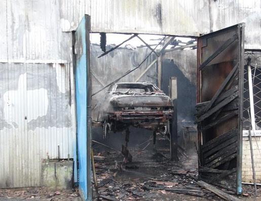 пожар, Минск, СТО, возгорание, сгорели, ремонтировавшиеся, автомобили