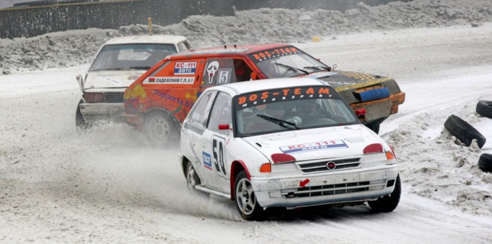 Горячий лед, Кубок SKF, трековые гонки