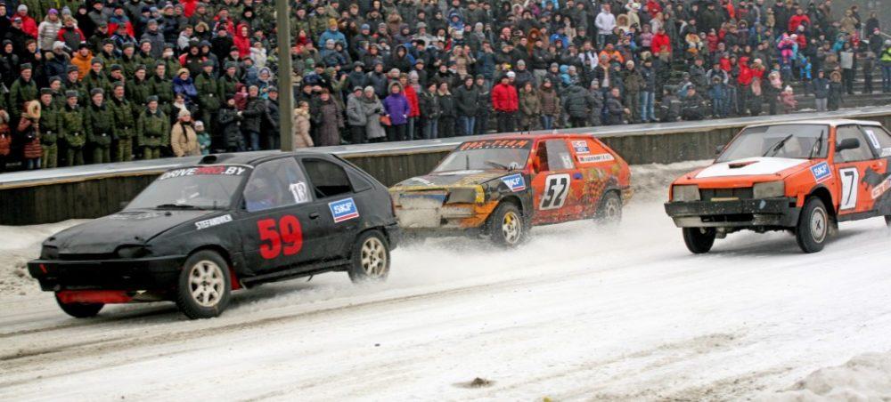 зимние трековые гонки на Кубок SKF 2014