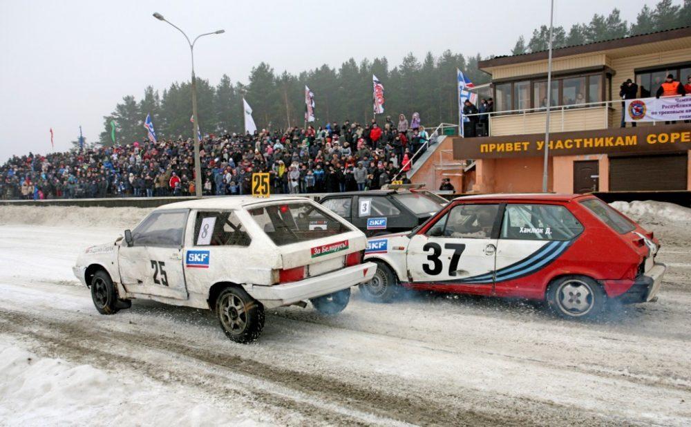 Горячий лед, зимние трековые гонки, Кубок SKF