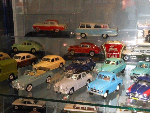 Модели легковых автомобилей