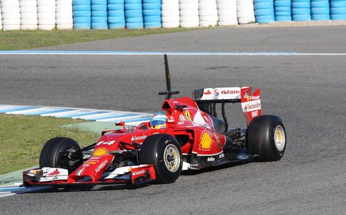 Фернандо Алонсо остался доволен новым болидом Ferrari