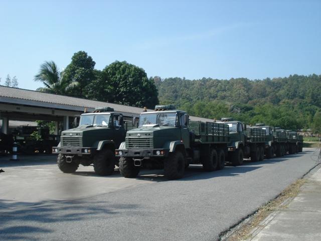 КрАЗы в Таиланде
