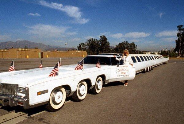 автомобиль, длинный, рекорд, лимузин