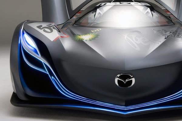 фары, модели фар, Mazda Furai