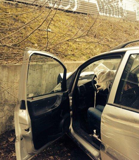 ДТП в Минске с участием Opel
