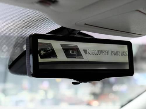 зеркало, задний вид, монитор, Ниссан, Nissan