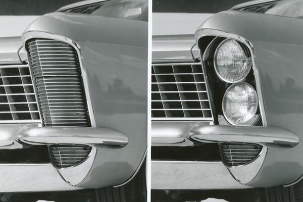 фары, модели фар,Buick Riviera