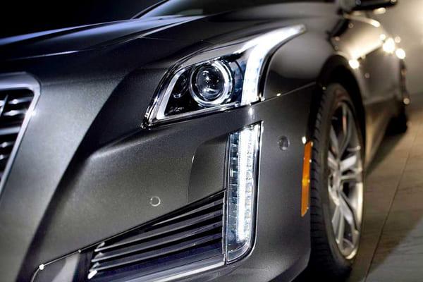 фары, модели фар, Cadillac CTS