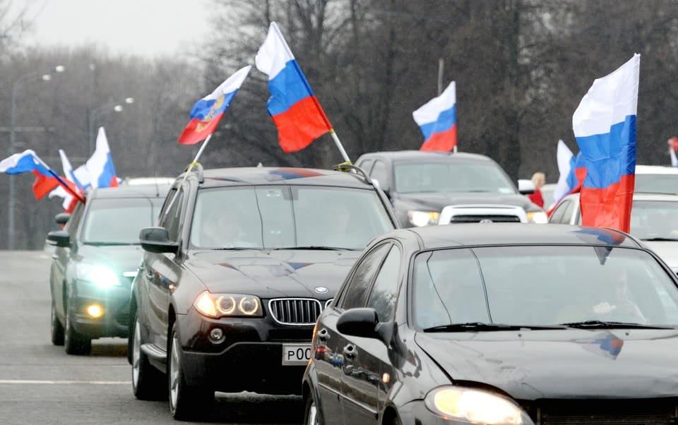 автопробег, участники, своих не бросаем, Крым, Украина, в поддержку