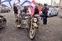 В Москве  устроили автопробег